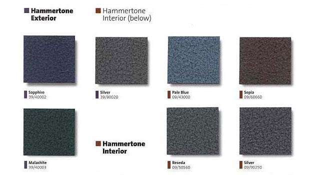 Hammertone Colors